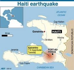 Гайти-д 7.0 баллын хүчтэй газар хөдлөлт боллоо
