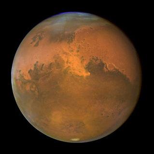 Ангараг дээр амьдрал байна уу